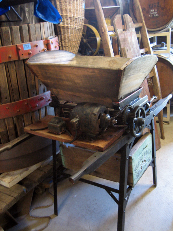 Early Wine Crusher/Destemmer with Motor Drive