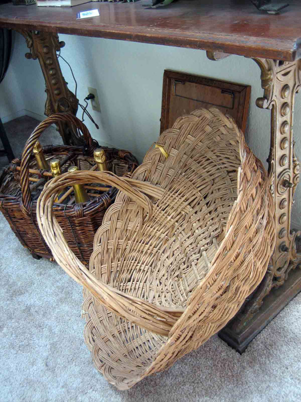 Grape Picking Basket c. 1910