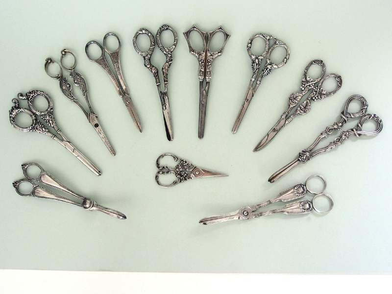 Collection of Vintage Grape Shears